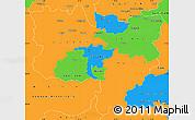 Political Simple Map of Zentralschweiz