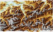Physical 3D Map of Uri