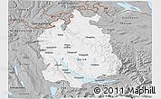 Gray 3D Map of Zürich