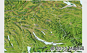 Satellite 3D Map of Zürich