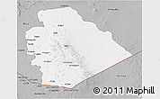 Gray 3D Map of As Suwayda