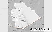 Gray Map of As Suwayda