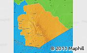 Political Map of As Suwayda