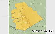 Savanna Style Map of As Suwayda
