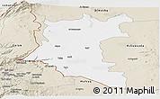 Classic Style Panoramic Map of Dara