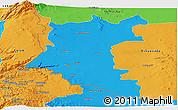 Political Panoramic Map of Dara