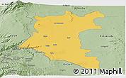 Savanna Style Panoramic Map of Dara
