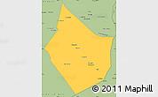 Savanna Style Simple Map of Dayr Az Zawr