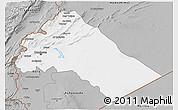 Gray 3D Map of Dimashq