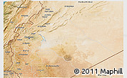 Satellite 3D Map of Dimashq