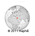 Outline Map of Dimashq