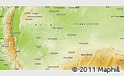 Physical Map of Hamah
