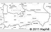 Blank Simple Map of Hamah