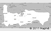 Gray Simple Map of Hamah