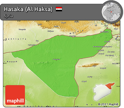 free-fancy-political-map-of-hasaka-al-ha