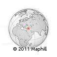 Outline Map of Hasaka (Al Haksa)