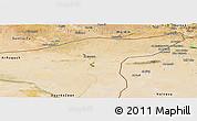 Satellite Panoramic Map of Hasaka (Al Haksa)
