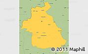 Savanna Style Simple Map of Idlib