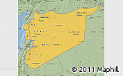 Savanna Style Map of Syria
