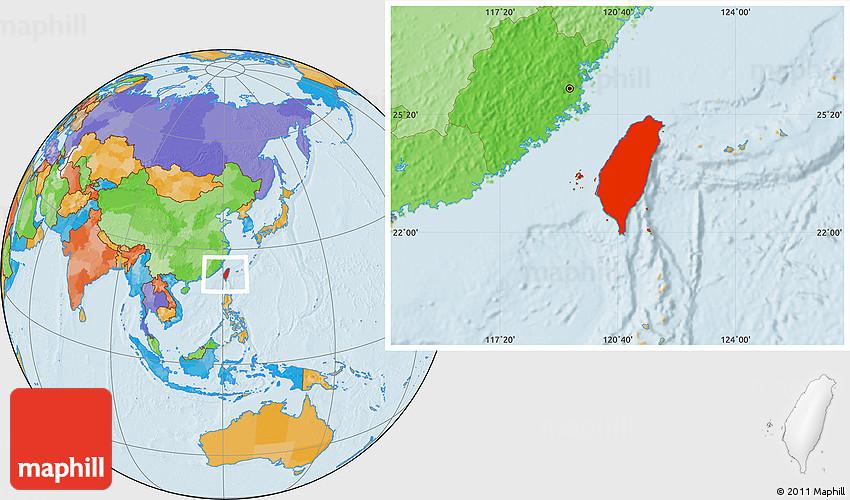 Political Location Map of Taiwan on taiwan map world war ii, taiwanon world map, taiwan native language, globe flat labeled world map, sea of japan map, vientiane world map, a turkey on world map, formosa on world map, taipei world map, taiwan philippines map, taiwan on a map of asia, formosa on an asian map, tokyo on world map, taiwan territories, rangoon world map, taiwan on the map, taiwan capital map, taiwan physical features map, indonesia on world map, venezuela location world map,