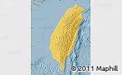 Savanna Style Map of Taiwan