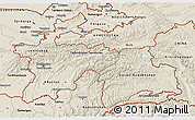 Shaded Relief 3D Map of Tajikistan