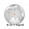 Outline Map of Gorno-Badakhshan