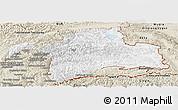 Classic Style Panoramic Map of Gorno-Badakhshan
