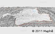 Gray Panoramic Map of Gorno-Badakhshan