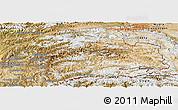 Satellite Panoramic Map of Gorno-Badakhshan
