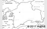 Blank Simple Map of Gorno-Badakhshan