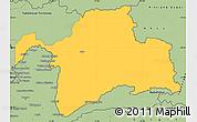 Savanna Style Simple Map of Gorno-Badakhshan