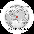 Outline Map of Khatlon