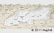 Classic Style Panoramic Map of Khatlon
