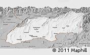 Gray Panoramic Map of Khatlon