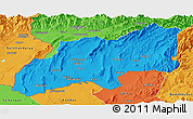 Political Panoramic Map of Khatlon