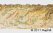 Satellite Panoramic Map of Khatlon