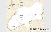 Classic Style Simple Map of Khatlon