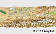 Satellite Panoramic Map of Leninabad