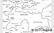 Blank Simple Map of Tajikistan