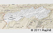 Classic Style 3D Map of Tadzhikistan Territories