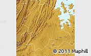Physical Map of Biharamulo