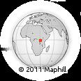 Outline Map of Karagwe