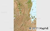 Satellite Map of Kagera