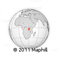 Outline Map of Kasulu