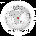 Outline Map of Kibondo