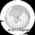 Outline Map of Kigoma