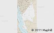 Classic Style Map of Kigoma