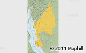 Savanna Style Map of Kigoma
