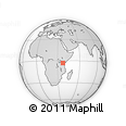 Outline Map of Hai